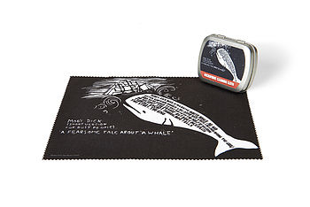 Moby Dick Microfibre Cleaning Cloth
