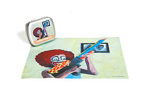 Clown Microfibre Cleaning Cloth - women's accessories