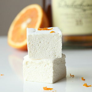 Whisky Orange Marshmallows - food & drink gifts