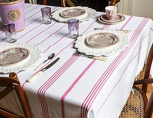 Pure Cotton Hamam Tablecloth