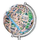 Illustrated Paris Globe