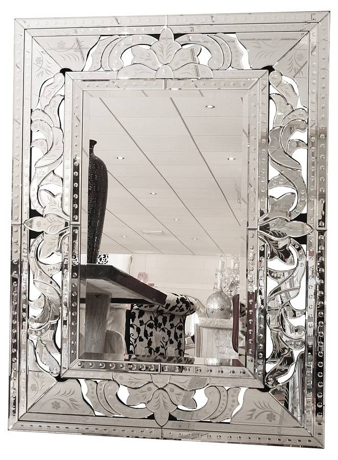 Venetian Style Wall Mirror By Made With Love Designs Ltd