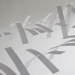 Boxed Paper Tinsel - room decorations