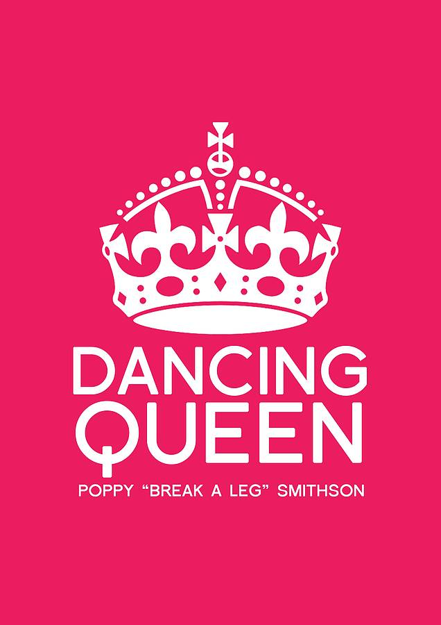 Personalised Dancing Queen Print By Tea One Sugar