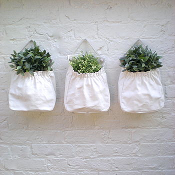 Canvas Planter And Storage Bag