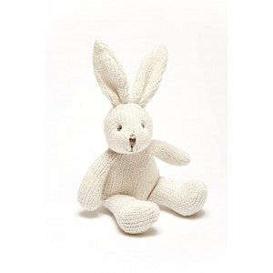 Rabbit Toy Rattle - soft toys & dolls