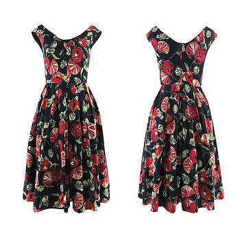 Grace Fruit Print Dress