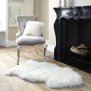Luxury Sheepskin Rug - rugs & doormats