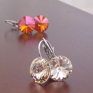 Abella Earrings Featuring Swarovski Crystal