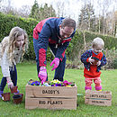 Daddy And Me Personalised Crates