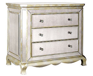 Three Drawer Venetian Chest - chests of drawers