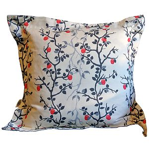 Secret Image Skulls And Angels Oxford Cushion - patterned cushions