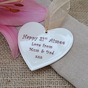 Personalised Special Occasion Heart - home accessories