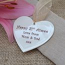 Personalised Special Occasion Heart