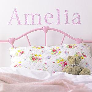 Personalised Daisy Wall Letters - children's decorative accessories