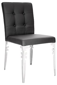 Dining Chair With Leg Detailing