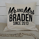 Family Cushion Cover