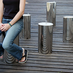 Mirror Trunk Stool - furniture