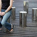 Mirror Trunk Stool