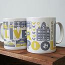 Liverpool Typographic Mug