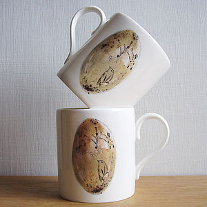 Bone China Egg Mug - crockery & chinaware