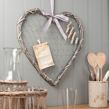 Willow Heart Memo Board