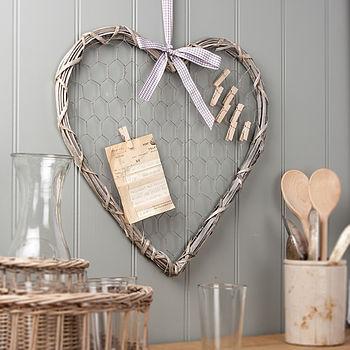 Willow Heart Memo Board