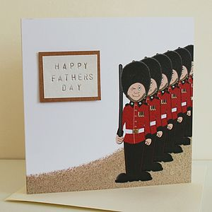 British Guardsmen Card - all purpose cards, postcards & notelets