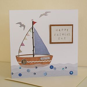 Seaside Sailboat Card - all purpose cards, postcards & notelets