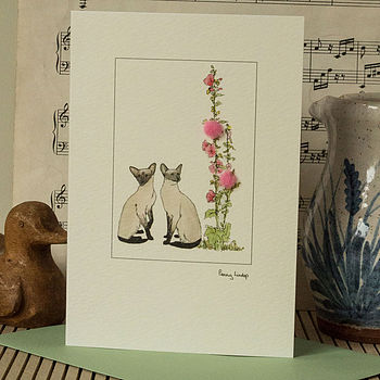 Handmade Cat Cards