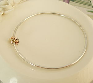 Eternity Knot Bangle - bracelets & bangles
