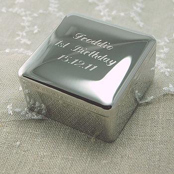 Square Trinket Box