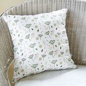 Countryside Linen Cushion - cushions