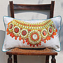 Shahenshah Indian Jewels Cushion Cover