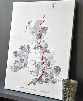 Stitch Your Journey Canvas