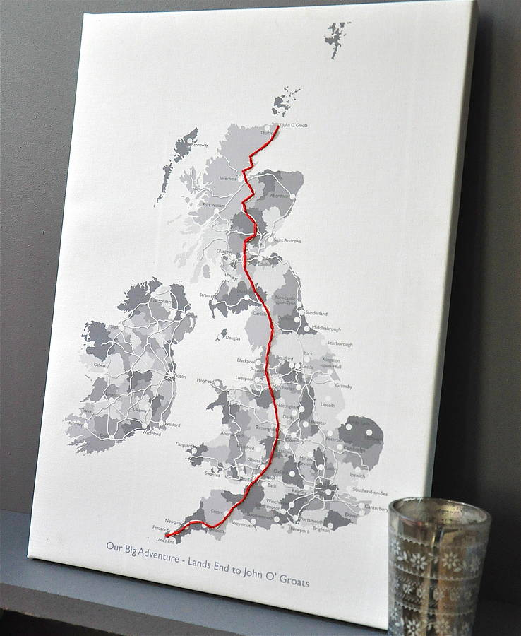 Stitch your journey canvas by thelittleboysroom notonthehighstreet stitch your journey canvas gumiabroncs Gallery