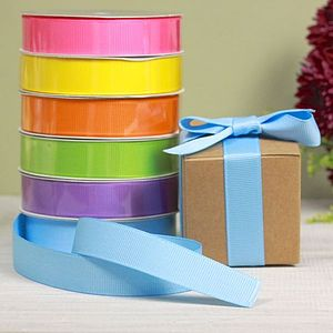 Bright Coloured Ribbon - table decorations