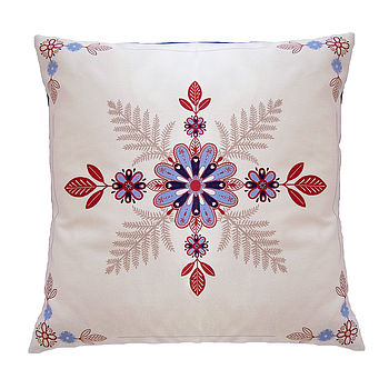 Folk Flowers Cushion