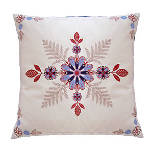 Folk Flowers Cushion - cushions