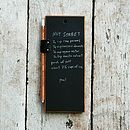 Chalkboard Tablet