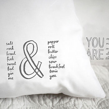 'Me And You' Pillowcase
