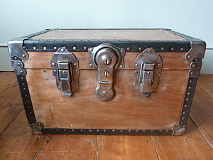 Industrial Trunk - chests & blanket boxes