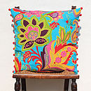 Tropical Delights Flower Cushion Cover