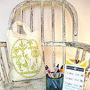 Mini Tote Bag 'Colour Me In Kit'