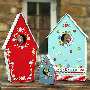 Easter Bird Box Decoration - easter decorations