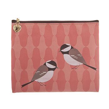 Bird Design Make Up Bag