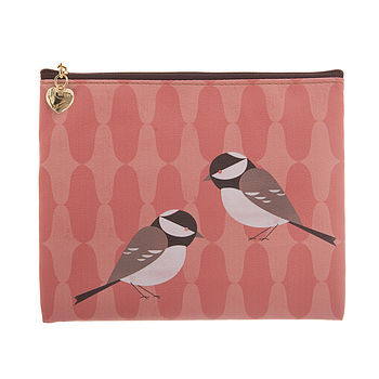 Bird Design Make Up Bag