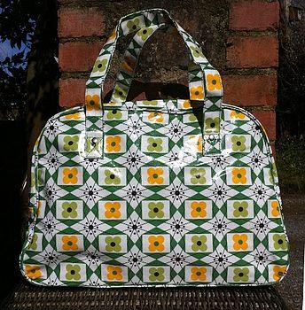 Oilskin Weekend Bag