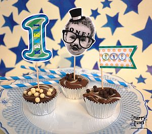Personalised Novelty Birthday Boy CakeToppers