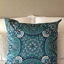 Vintage Scarf Abstract Cushion